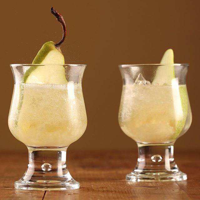 Sparkling Chardonnay, Orange Blossom & Pear Mocktail - Maggie Beer