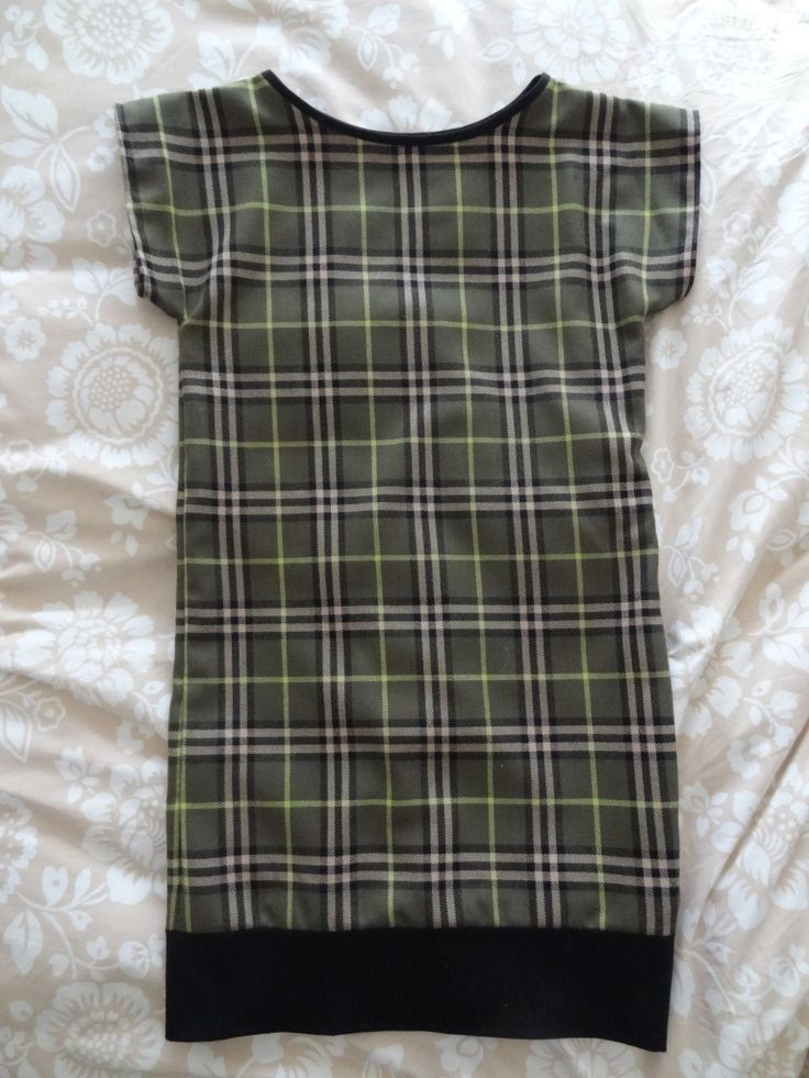 robe tartan 001