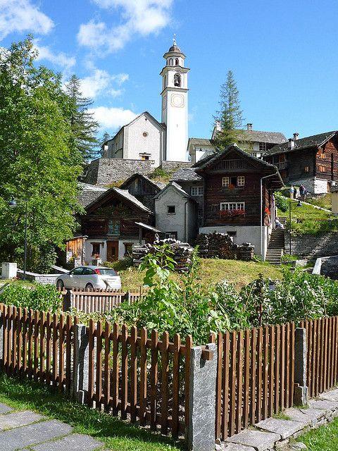 Bosco Gurin, Ticino, Switzerland