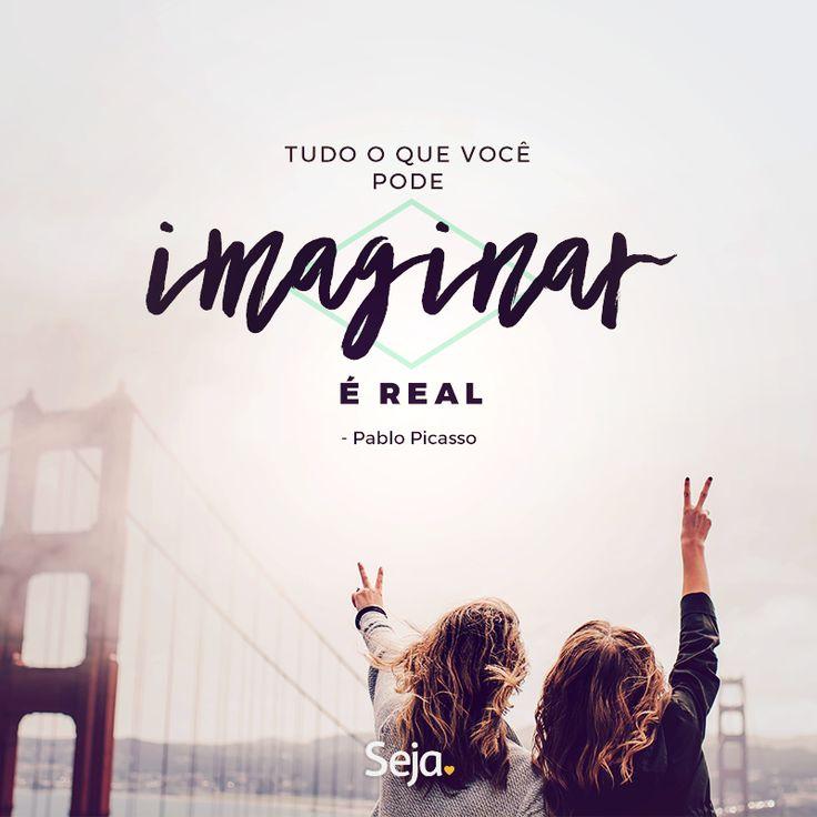 Imagine, faça e aconteça!  https://www.facebook.com/projetosejavoce/ https://www.instagram.com/projetoseja #osegredo #frases #leidaatração #sejasonhador #seja #sonhador #sonhos #sejavoce #seja #projetoseja