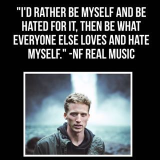 Always remember to be yourself #nfrealmusic_ #nfrealmusic #nf #s #letyoudown #rememberthis #edit #wallpaper #hd #rap #rapper