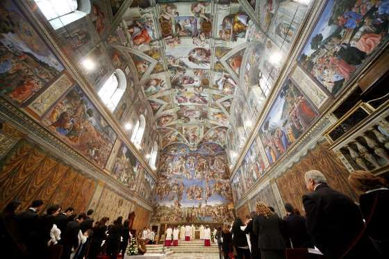 A general view of Sistine Chapel - Franco Origlia/Getty Images/Getty Images