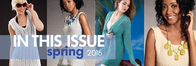 Vogue Knitting Early Spring 2016 : In This Issue