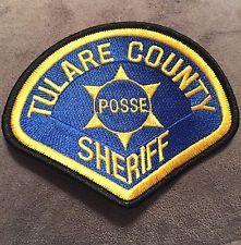 Tulare County Sheriff Posse Patch, Super Rare!