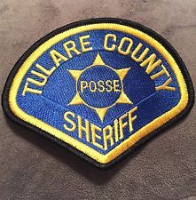 Tulare County Sheriff Posse Patch, Super Rare!