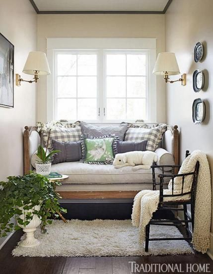 A Deep Daybed Fits Perfectly In Front Of This Guest