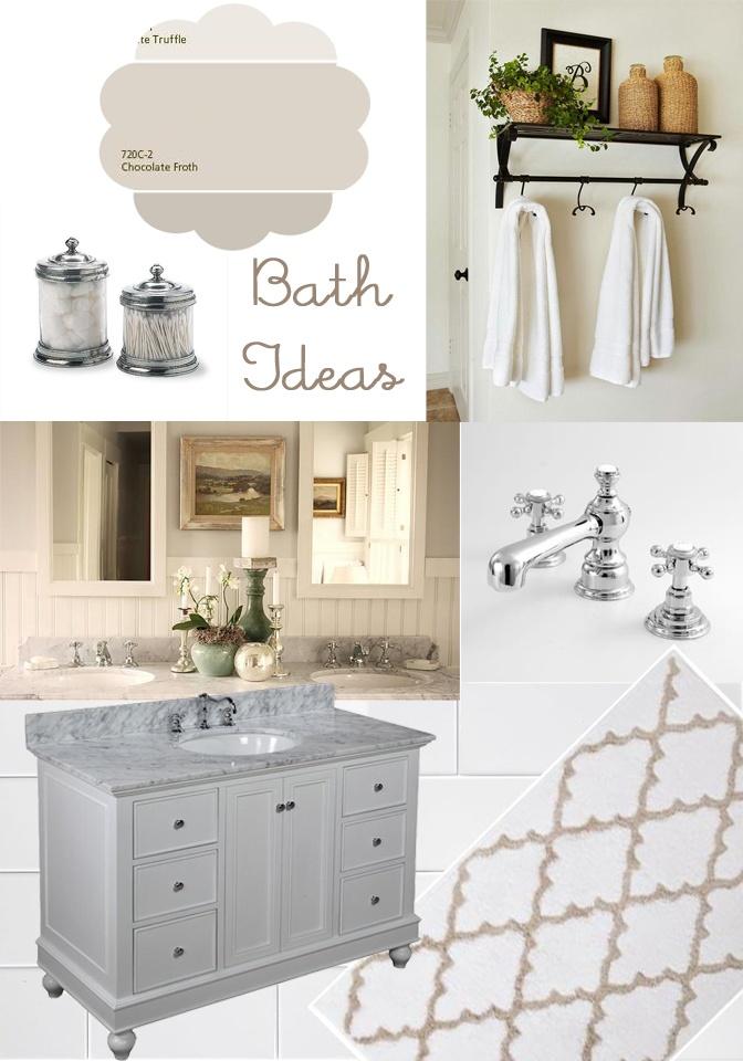 Bathroom Mood Board Bathrooms Pinterest