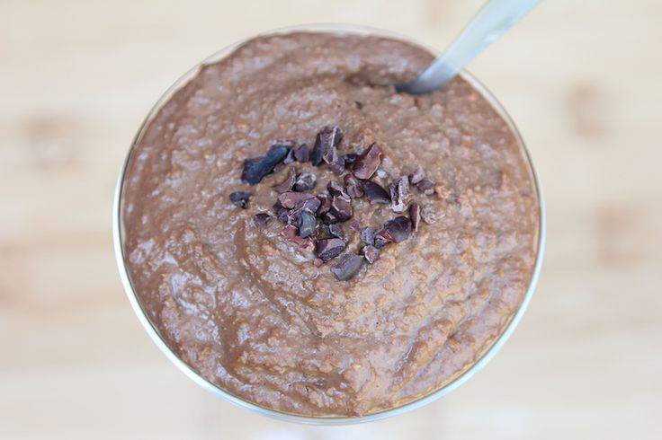 Raw Steelcut Oats Porridge - Chocolate and peanut butter...