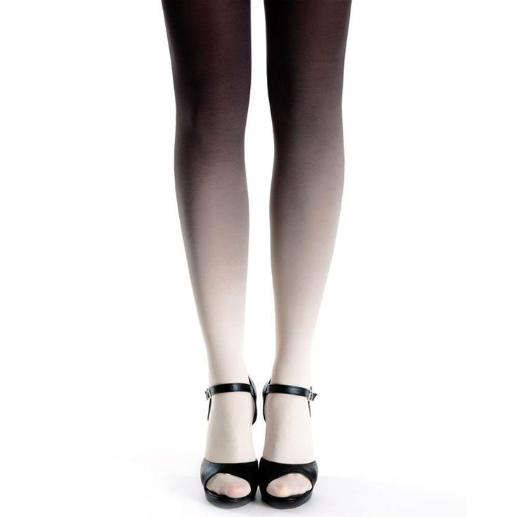 Virivee. Mooie ombre panty van zeer goede kwaliteit. Het materiaal is super zacht en stretchy. De panty is met de hand geverfd en 50 denier.
