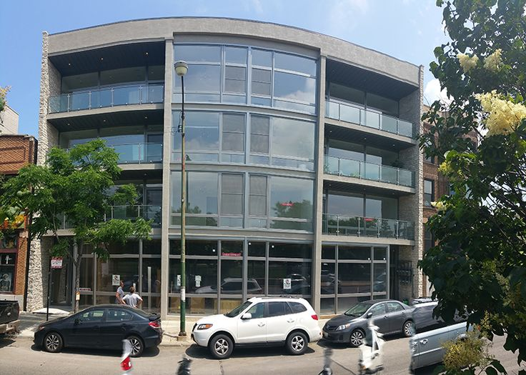 The Residence at 1617 Ashland Ave, Chicago. Windows and doors made by SWD Windows Installation into new openings by SWD - with straps  Shapes: 13  Total Quantity: 19