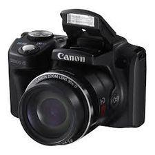 Aparat foto Compact Canon PowerShot SX500 HS Black