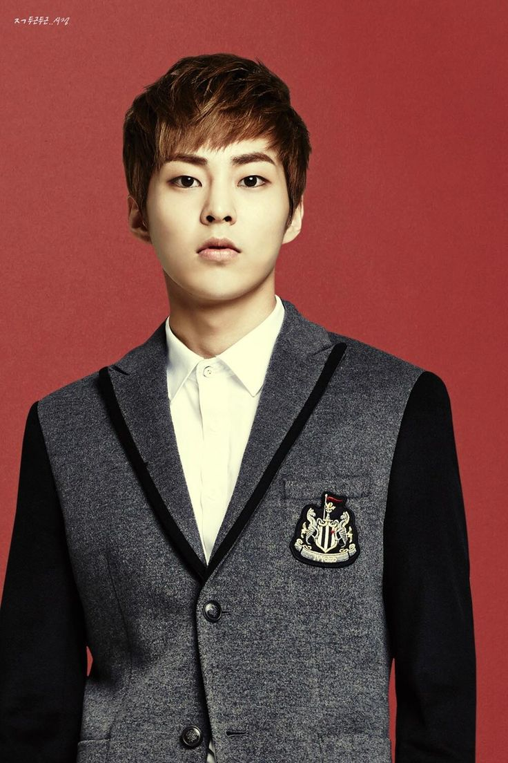 Ivy Club Poster - Xiumin (시우민)  I still refuse to pick just one. but I do admit I have a serious thang for Xiumin. Trouble started a few days ago I think because in the beginning I just kept staring at him, trying to figure out why I couldn't stop staring at him. I think he's beautiful! When I see his face it's instant joy. When I watch clips of EXO and Xiumin smiles I smile bigger! My condition has gotten worse cause now I think of him and I turn into a babbling pile of mush. SMH.....