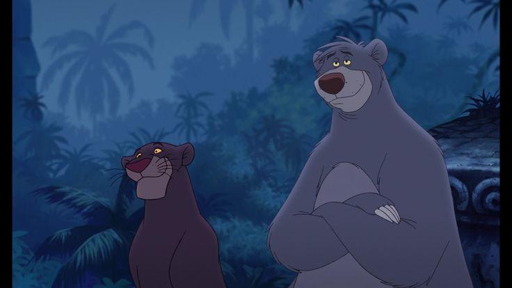 "Bagheera (Bob Joles) and Baloo (John Goodman) from ""The ..."