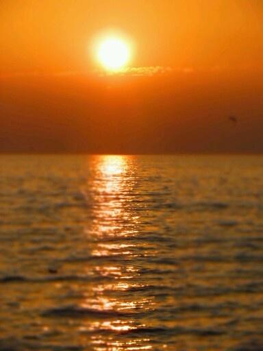 Sunset at Bardolino, Italy