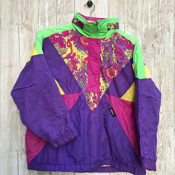 RETRO Wild Reversible ISPO Ski jacket Brights Paisley Print