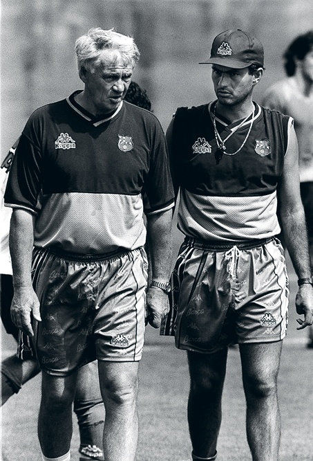 Sir Bobby Robson & his translator Jose Mourinho Calorro