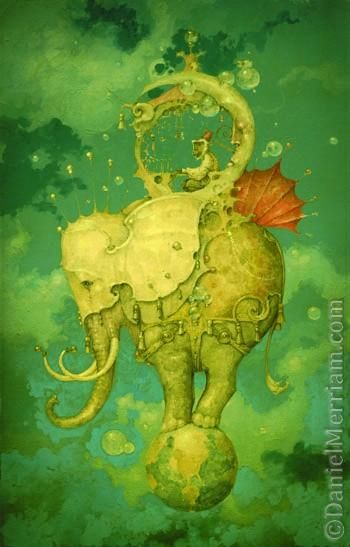 Daniel merriamTattoo Ideas, Daniel Merriam, Artists, Inspiration, Dreams, Elephant, Illustration, Things, Painting