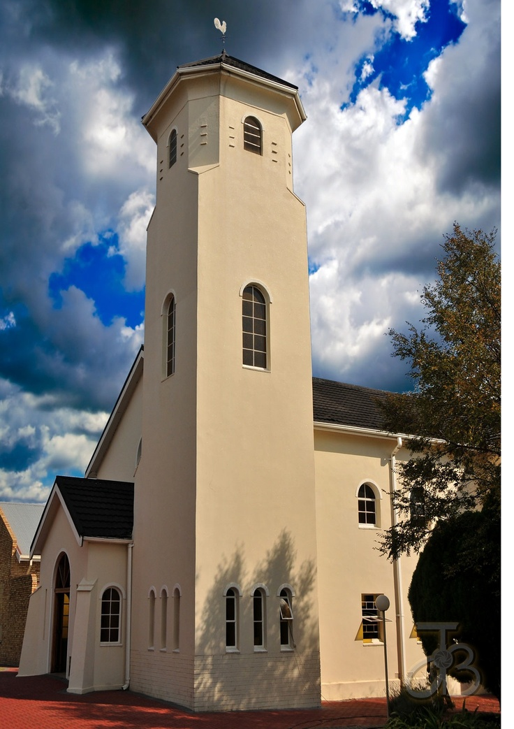 The Re-reformed church of Parys, Free State, South Africa. By #PhotoJdB