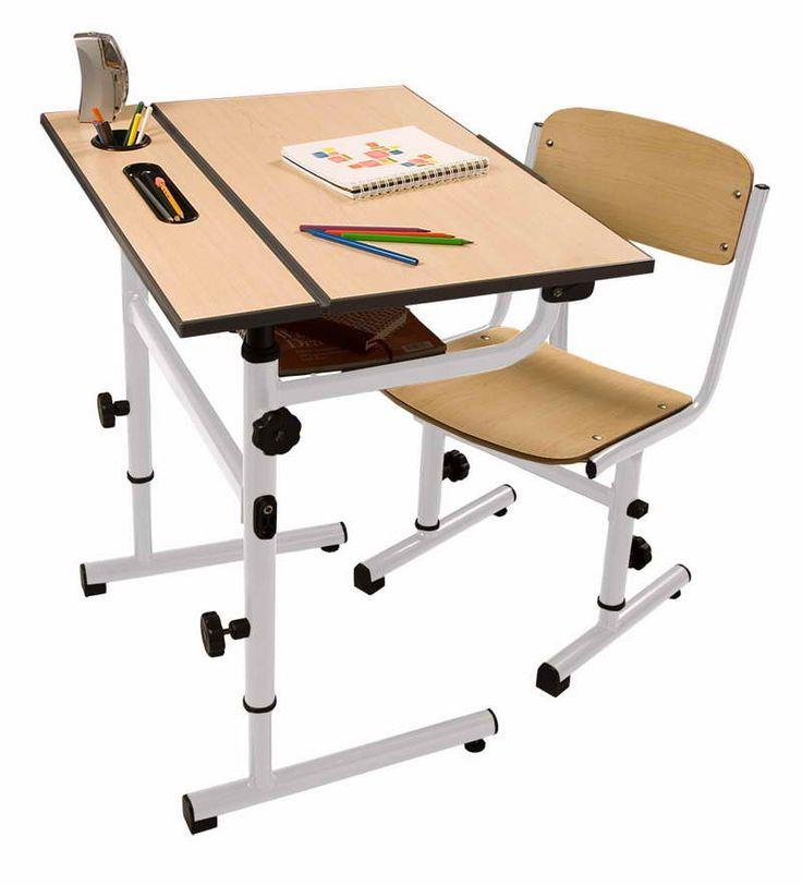 Perfect Nice School Desk Design Photo