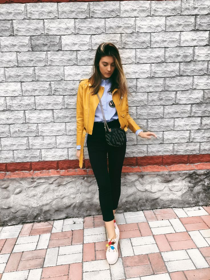 Best 20+ Yellow jacket outfit ideas on Pinterest
