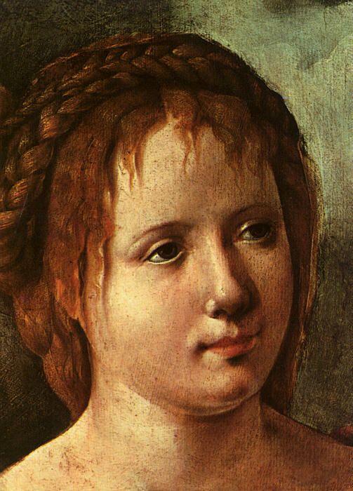 Ян ван Скорел (Jan van Scorel) (1495 - 1562) — Голова девочки ( Art History Museum, Vienna)
