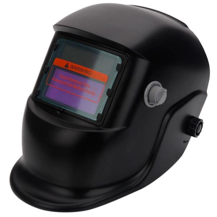 WS-107 Solar Powered Auto Darkening Welding Helmet