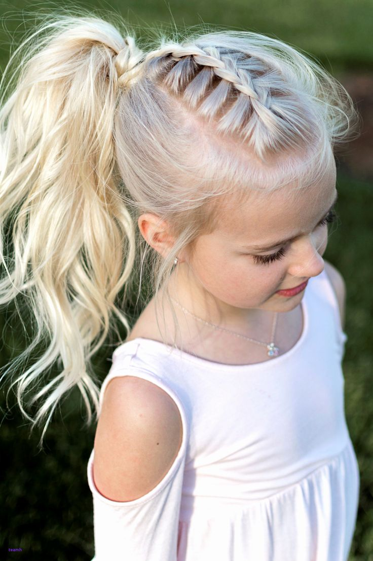 Adorable Little Girl Lovely Fashion Easy Updo Hairstyles For Kids