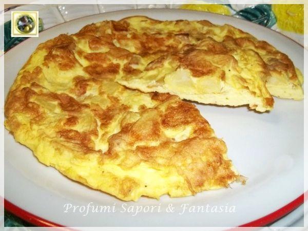 Frittata con patatine fritte e parmigiano Blog Profumi Sapori & Fantasia
