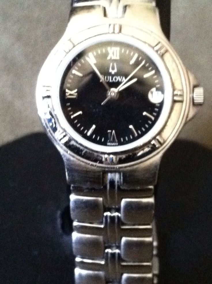 Bulova Bracelet 96M03 Wrist Watch for Women #Bulova STARTING AT $25.00 RETAIL $150.00 Auction ends in less 1 hour. Ebay item # 291175137782 by toshmonster @ugottime.com