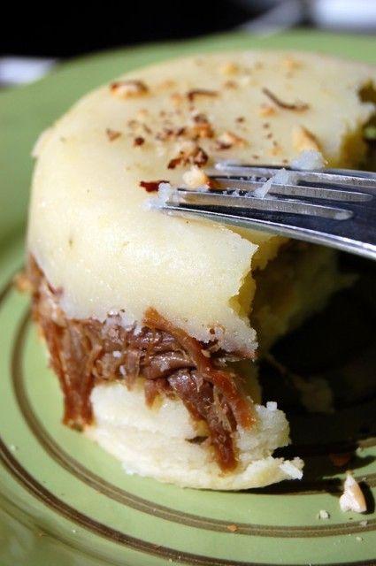 Parmentier de confit de canard aux noisettes | Torchons & Serviettes