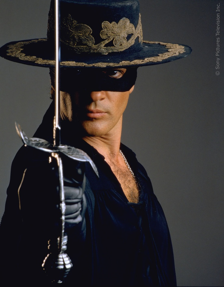Antonio Banderas - The Mask of Zorro
