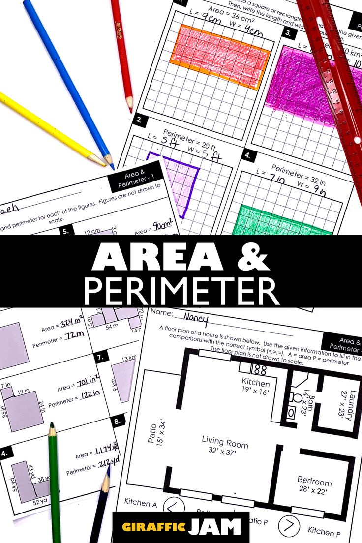 4th grade perimeter worksheets pdf
