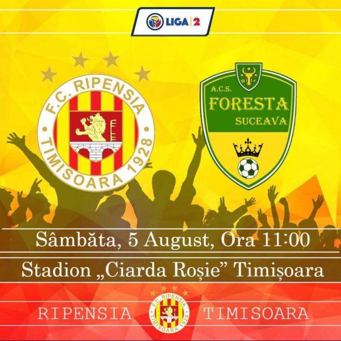 FC Ripensia – Foresta Suceava