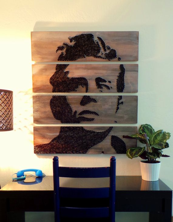 James Dean Modern String Art Tablets - Set of 4 Tablets, Made to Order