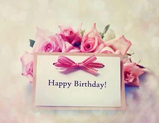 Place card Birthday
