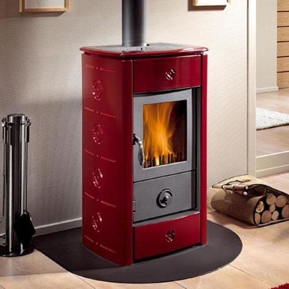 162 best images about fire place on pinterest for Most efficient small wood burning stove