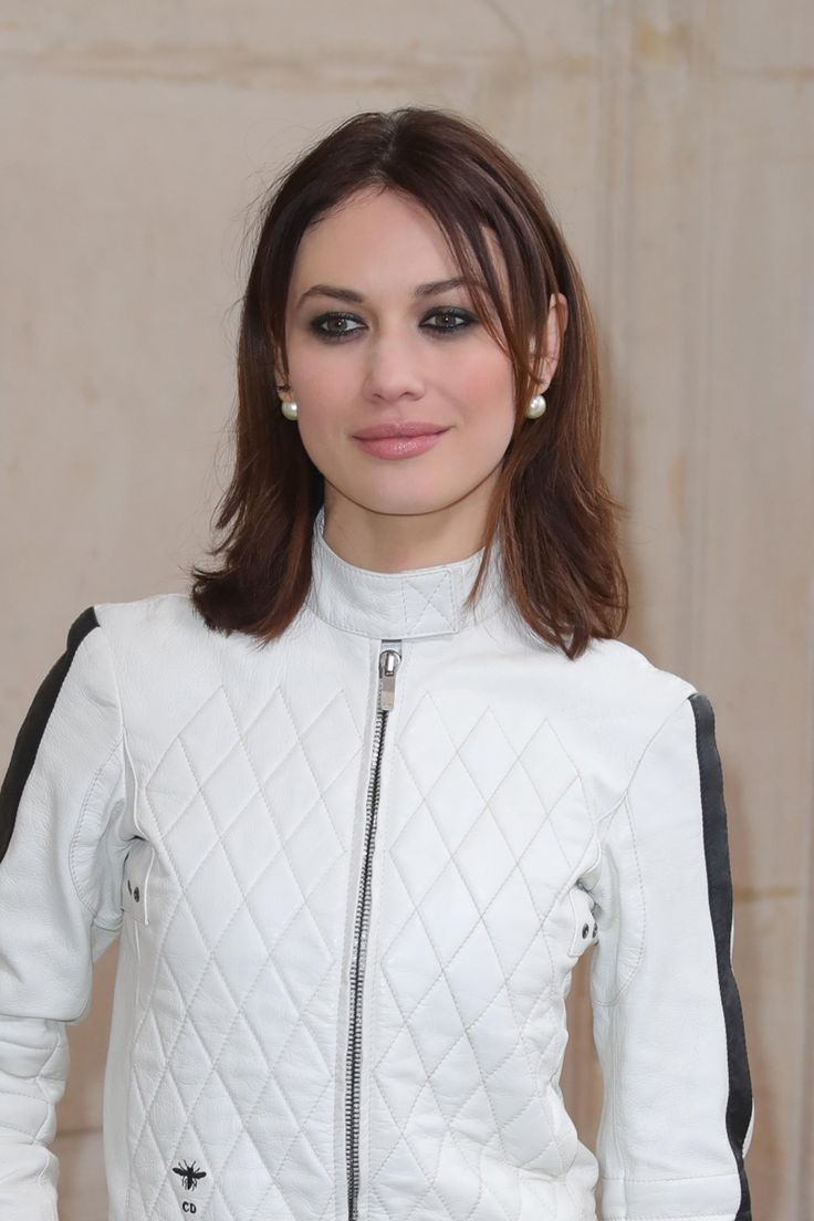 Olga Kurylenko attends the Christian Dior Fashion Show