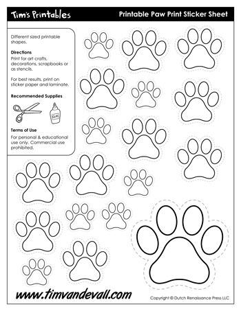 Shape Templates Archives - Page 4 of 11 - Tim's Printables
