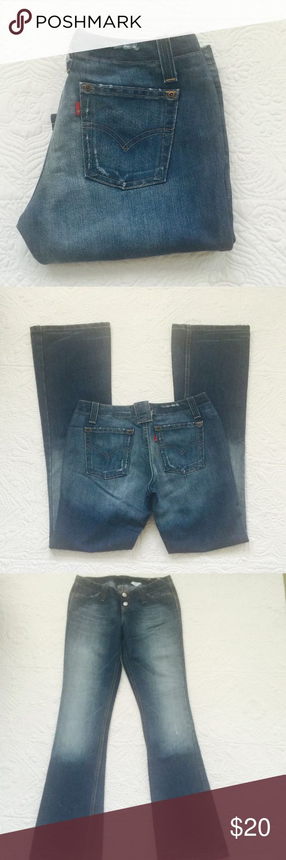 """Levi's 520 jeans New without tag. Rise 7"""" inseam 32"""". 58% cotton 42% polyester Levi's Jeans Boot Cut"""