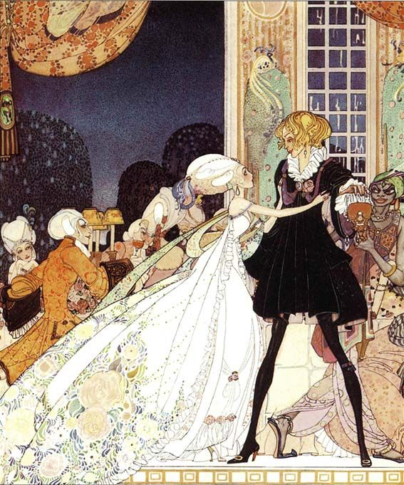 Old Fairy Tale Illustrations   ... : Once Upon a Time Classic Fairy Tale Illustrations -Kay Nelson 1913