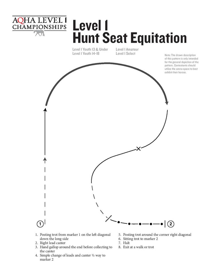Best Equitation Patterns Images On   Hunt Seat