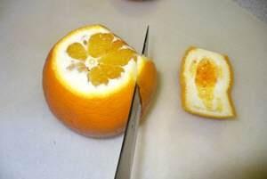 Orange filetieren ist gar nicht so schwer, hier gibts die Step-by-Step-Anleitung.