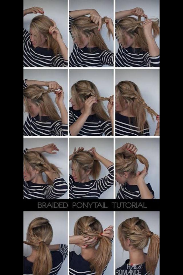 Truc de coiffure!