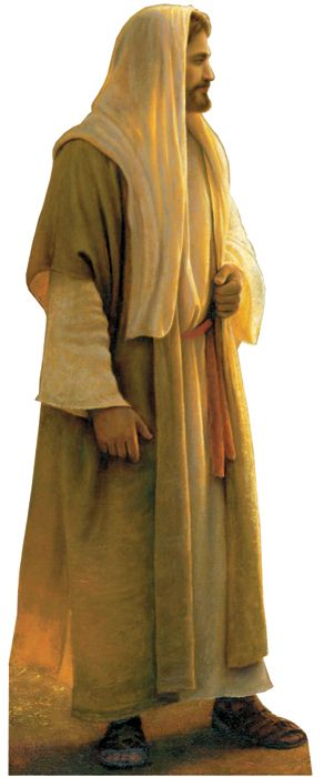 Wherever He Leads Me - Religious Cardboard Cutout Standup Prop    Wherever He Leads Me is a painting of the Savior by Greg Olson.    Size: 6 2    Please allow 2-3 weeks for ...