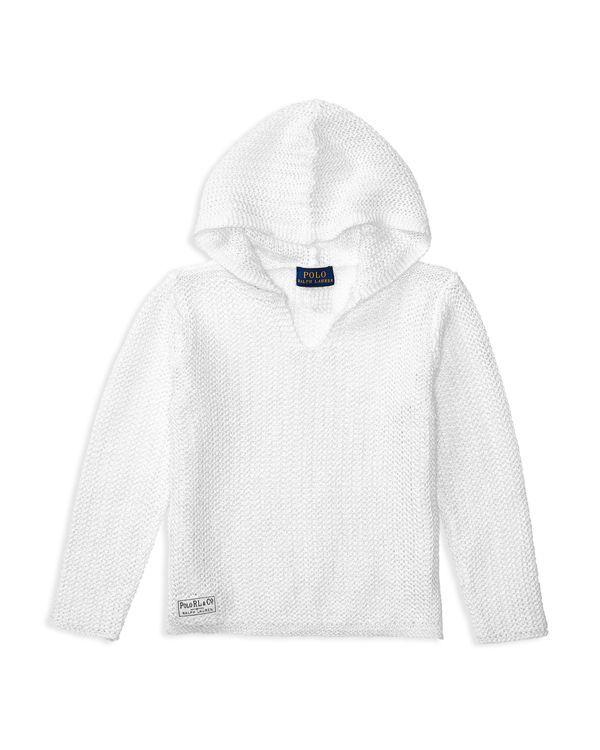 Ralph Lauren Childrenswear Girls' Hooded Sweater - Sizes 2-6X