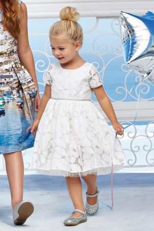 Buy Ecru Lace Prom Dress (3mths-6yrs) online today at Next: South Africa