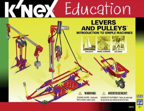 K'NEX Education - Intro To Simple Machines: Levers and Pulleys K'Nex,http://www.amazon.com/dp/B000O94QTI/ref=cm_sw_r_pi_dp_4jkYsb175AKG11NM