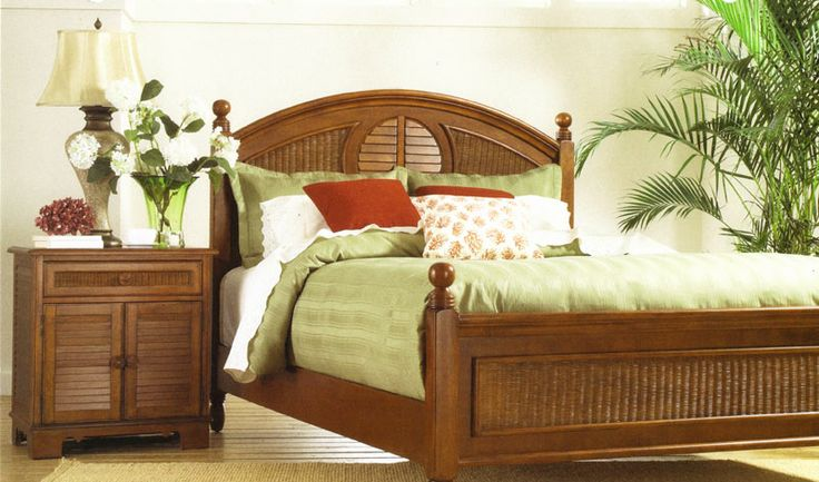 19 best Tropical Rattan and Wicker Bedroom Furniture