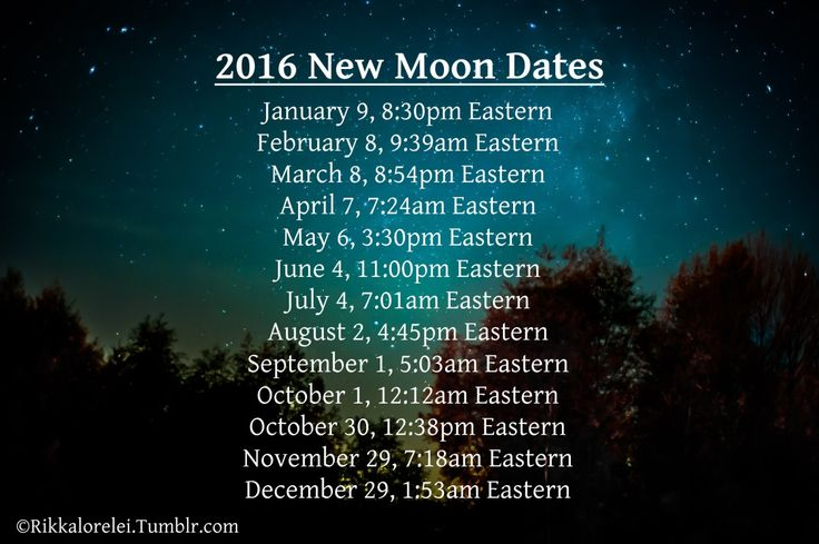 You are another me | rikkalorelei:  2016 Full Moon Dates  January 23,...