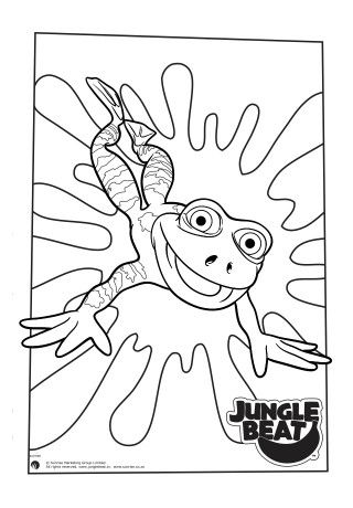 30 best Jungle Beat Colouring Pages images on Pinterest ...